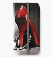 Red shoe diary 3 iPhone Wallet/Case/Skin