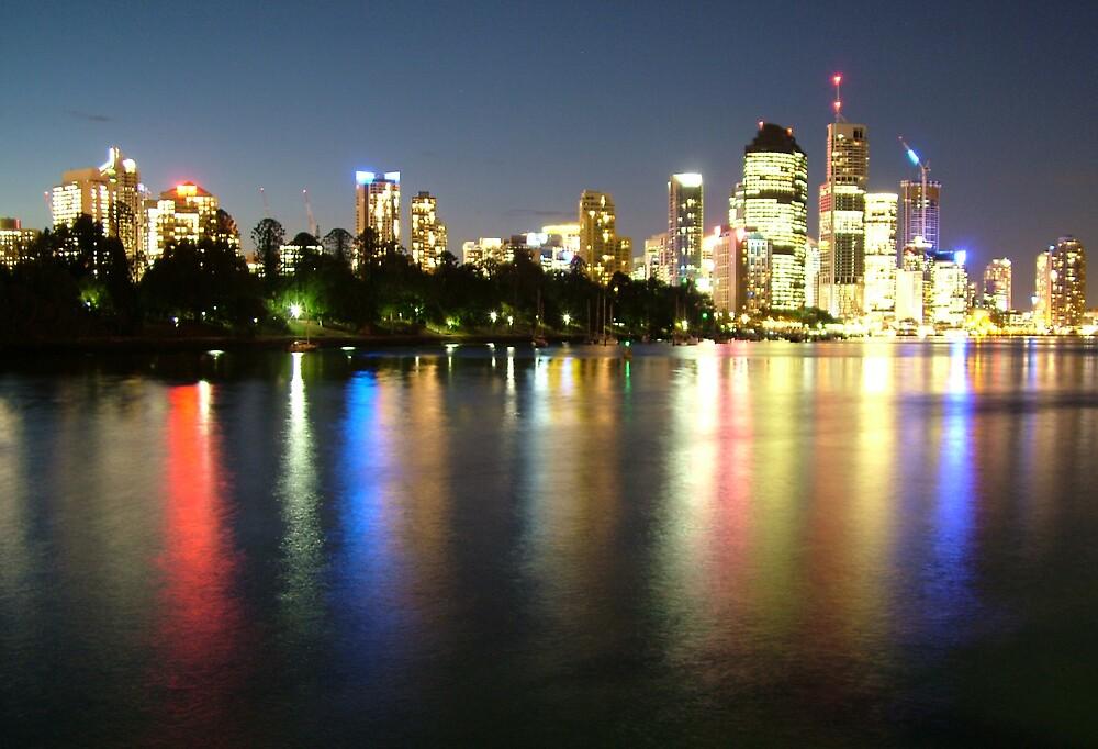 Brisbane City by Samuel Holt