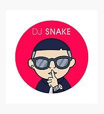 dj Snake Photographic Print