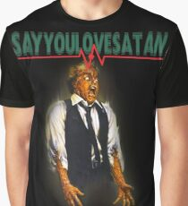Say You Love Satan 80s Horror Podcast - Scanners Graphic T-Shirt