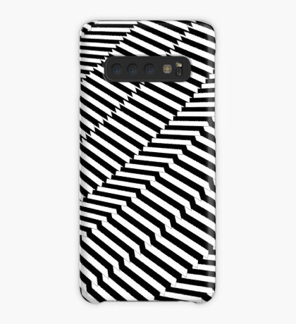 Rotated & Scaled Triangles 004 Case/Skin for Samsung Galaxy