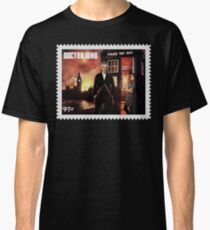 Doctor Who Postage Stamp Classic T-Shirt
