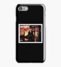 Doctor Who Postage Stamp iPhone Case/Skin