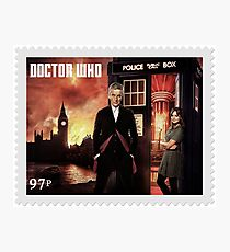 Doctor Who Postage Stamp Photographic Print