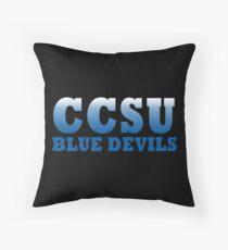 Central Connecticut State University Blue Devils, CCSU Throw Pillow