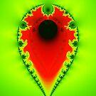 Inverted Mandelbrot III by Rupert Russell