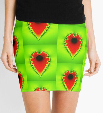 Inverted Mandelbrot III Mini Skirt