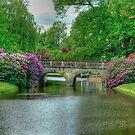 Garden Bridge Schloss Burgsteinfurt by Christiaan