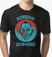 The Korean Zombie shirt Tri-blend T-Shirt