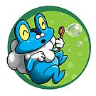 Bubbles for Froakie by TinyNeenja