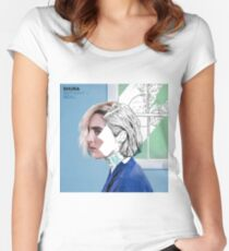 Shura - Nothing's Real Women's Fitted Scoop T-Shirt