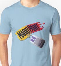 Mario Paint Logo & Mouse T-Shirt