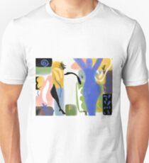 Matisse Inspired Paper Cut Unisex T-Shirt