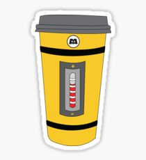 Monster Coffee Cup Sticker