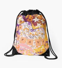 Be Brave Drawstring Bag