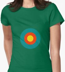 Summer Nights Womens Fitted T-Shirt