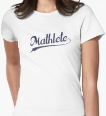 All Star Mathlete Math Athlete Women's Fitted T-Shirt