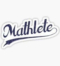 All Star Mathlete Math Athlete Sticker