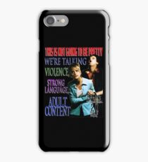 Buffy the Vampire Slayer - Adult Content iPhone Case/Skin