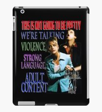Buffy the Vampire Slayer - Adult Content iPad Case/Skin