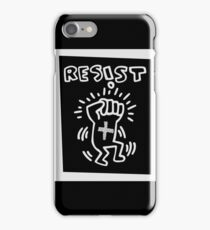 RESIST - H A R I N G - white iPhone Case/Skin
