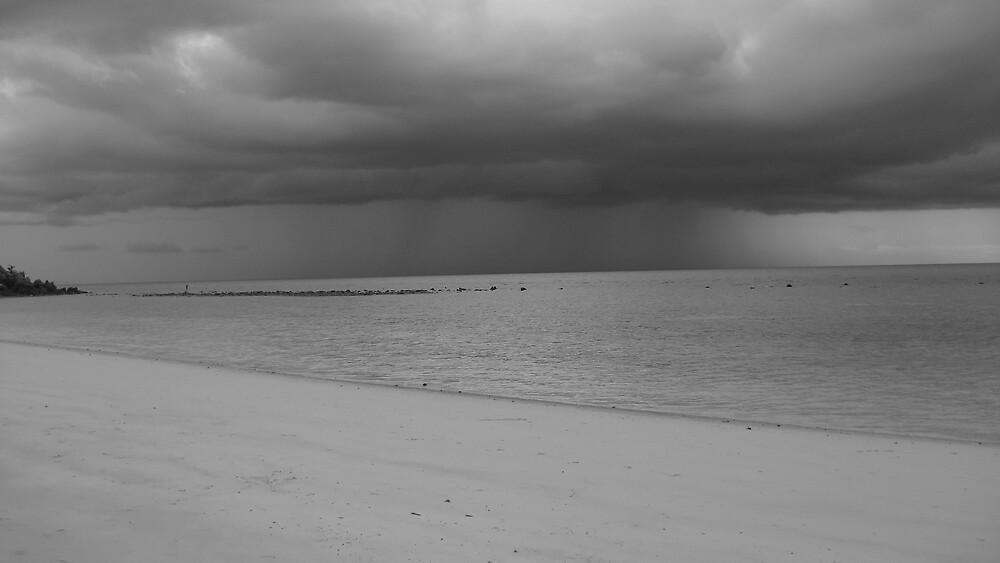 Massive storm @ Koh Phangan by Rohana