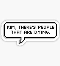 Pegatina Kim