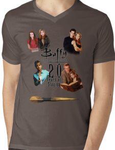 Buffy - 20 Years of Slaying Mens V-Neck T-Shirt