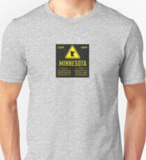 Minnesota Extreme Warning Unisex T-Shirt
