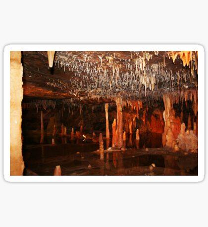 Buchan Höhle in Victoria Sticker