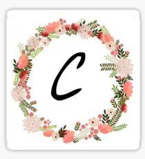 The Letter C Sticker