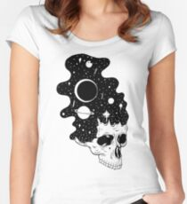 Space Brains Women's Fitted Scoop T-Shirt