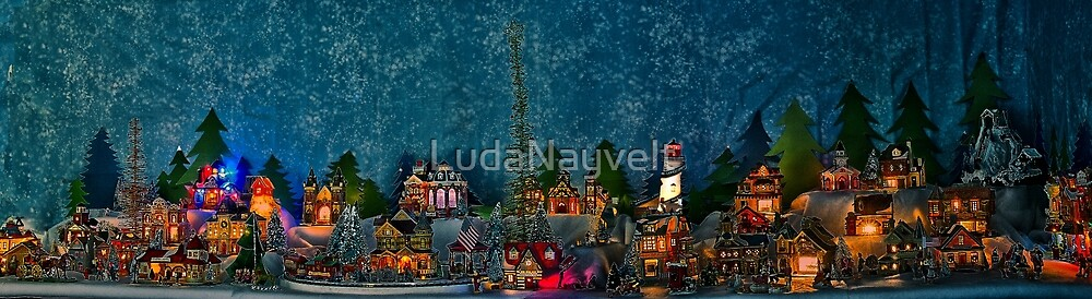 Christmas Village  by LudaNayvelt
