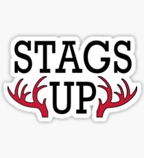 Fairfield University, Stags Up Sticker