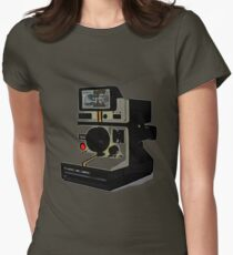 Instant camera Womens Fitted T-Shirt
