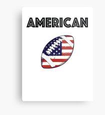 American Football Metal Print