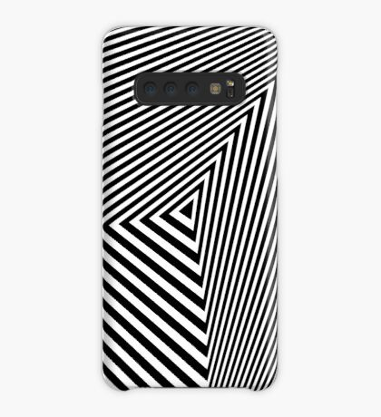 Rotated & Scaled Triangles 007 Case/Skin for Samsung Galaxy