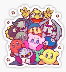 Kirby group Sticker