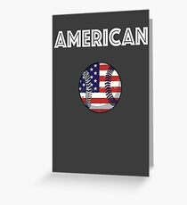 American Baseball Greeting Card