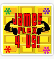 TV Game Show - TPIR (The Price Is...) James Sticker