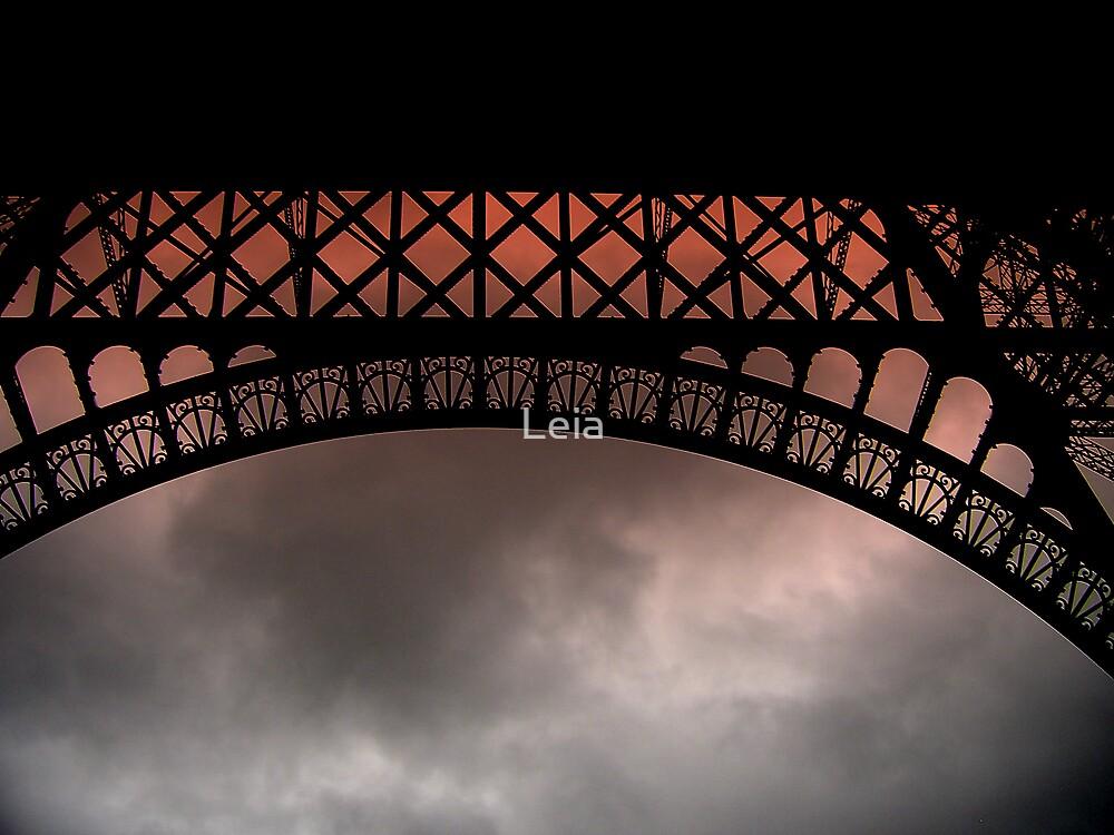 Moody Eiffel by Leia