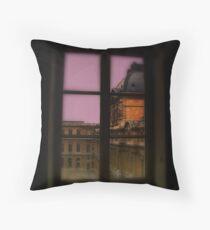 Colour Louvre Window Throw Pillow