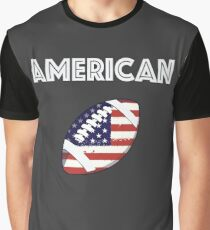 American Football Graphic T-Shirt