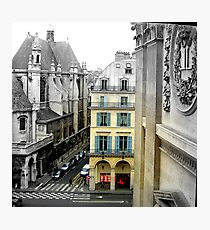 View from Louvre Photographic Print