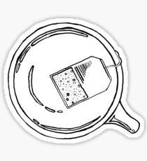 Float-Tea Sticker