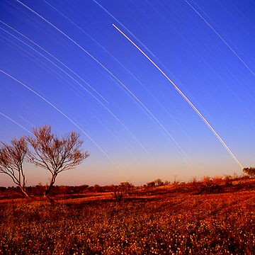 Star Trails,Cameron Corner.QLD by mrmatt43