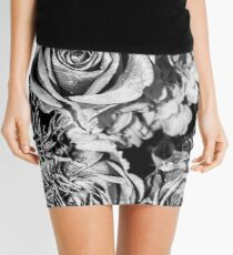 Winter Flowers Mini Skirt