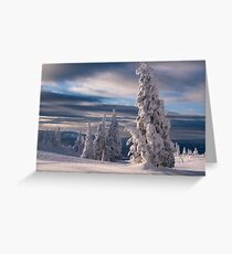 Silverstar Greeting Card