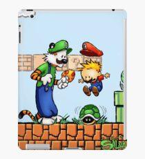 Super Calvin & Hobbes Bros. iPad Case/Skin