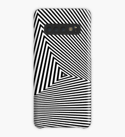 Rotated & Scaled Triangles 008 Case/Skin for Samsung Galaxy